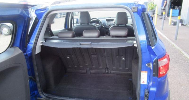 Ford EcoSport 1.5 TDCi 90 FAP Bleu occasion à Saint Parres Aux Tertres - photo n°5