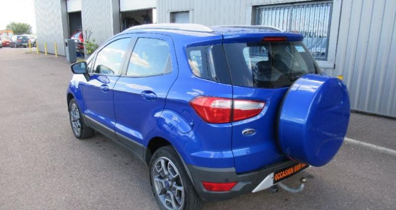 Ford EcoSport 1.5 TDCi 90 FAP Bleu occasion à Saint Parres Aux Tertres - photo n°4