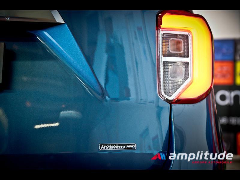Ford Explorer 3.0 EcoBoost 457ch Parallel PHEV Platinum i-AWD BVA10 25cv Bleu occasion à Dijon - photo n°10