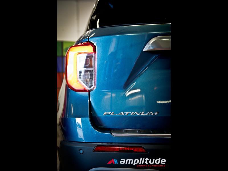 Ford Explorer 3.0 EcoBoost 457ch Parallel PHEV Platinum i-AWD BVA10 25cv Bleu occasion à Dijon - photo n°14