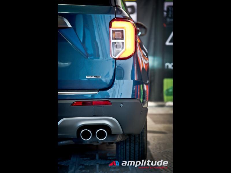 Ford Explorer 3.0 EcoBoost 457ch Parallel PHEV Platinum i-AWD BVA10 25cv Bleu occasion à Dijon - photo n°8