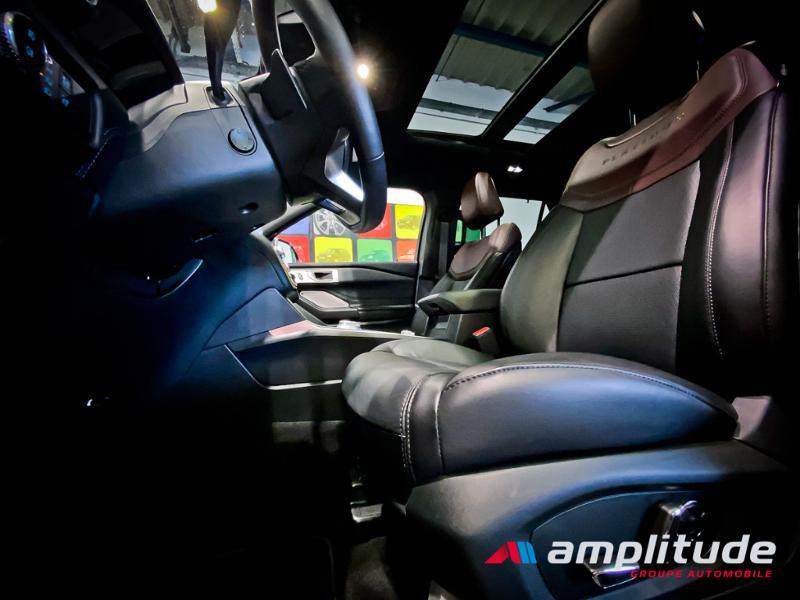 Ford Explorer 3.0 EcoBoost 457ch Parallel PHEV Platinum i-AWD BVA10 25cv Bleu occasion à Dijon - photo n°3
