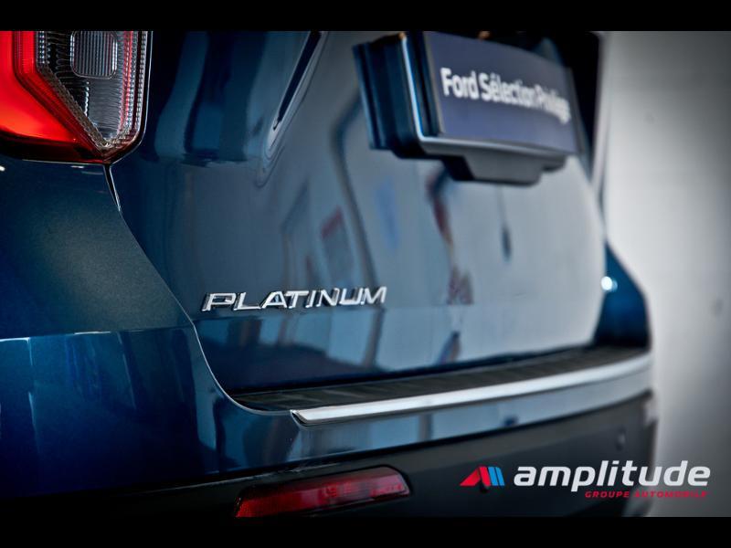 Ford Explorer 3.0 EcoBoost 457ch Parallel PHEV Platinum i-AWD BVA10 25cv Bleu occasion à Dijon - photo n°13