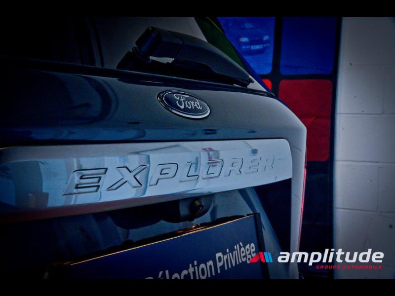Ford Explorer 3.0 EcoBoost 457ch Parallel PHEV Platinum i-AWD BVA10 25cv Bleu occasion à Dijon - photo n°9