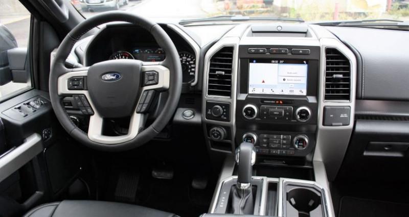 Ford F1 F 150 Lariat sport fx4 502a v8 5.0l bva10 flex fuel e85 Gris occasion à PONTAULT COMBAULT - photo n°3