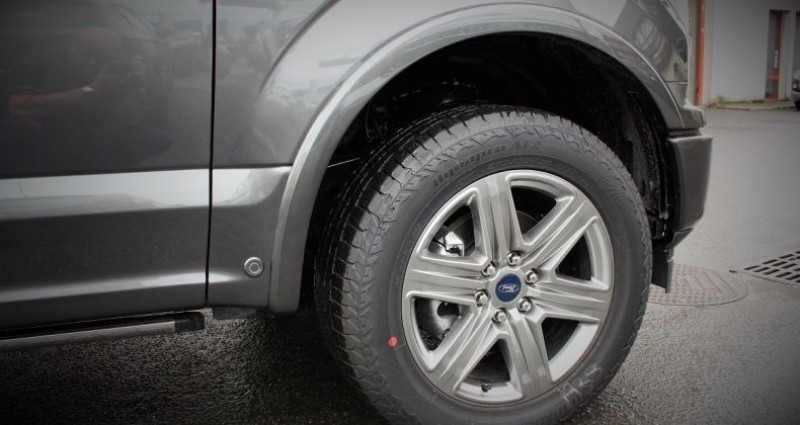 Ford F1 F 150 Lariat sport fx4 502a v8 5.0l bva10 flex fuel e85 Gris occasion à PONTAULT COMBAULT - photo n°6