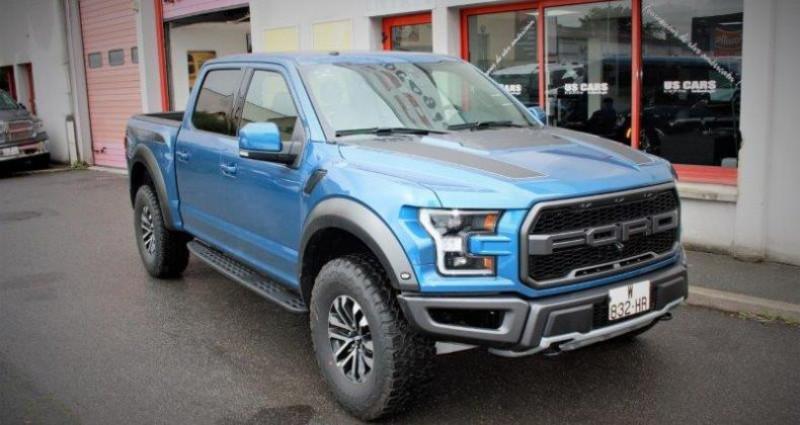 Ford F1 F 150 Raptor v6 3.5l ecoboost bva10 450hp Bleu occasion à PONTAULT COMBAULT
