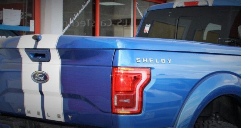 Ford F1 F 150 Shelby v8 5.0 supercharged 755hp bva 10 Bleu occasion à PONTAULT COMBAULT - photo n°6