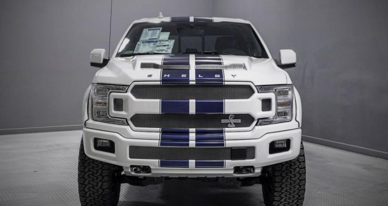 Ford F1 F 150 Shelby v8 5.0l supercharged 755hp bva10 Blanc occasion à PONTAULT COMBAULT - photo n°2