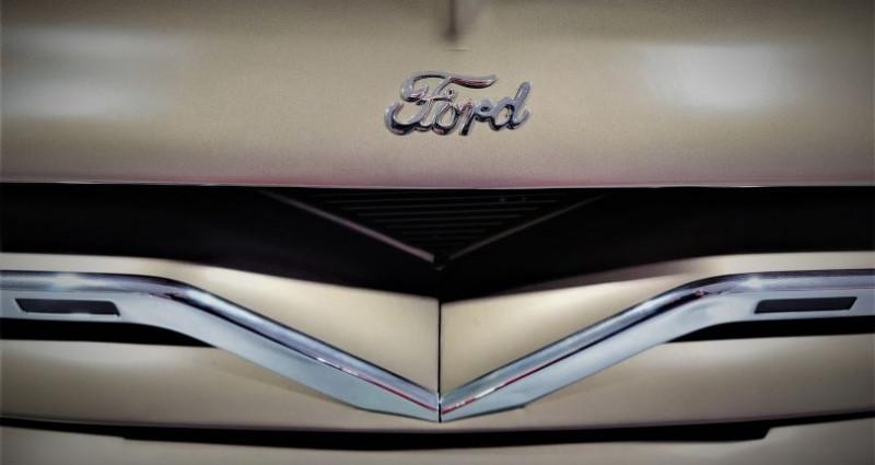 Ford F1 PANEL 1955 Beige occasion à ESTAIMPUIS - photo n°4