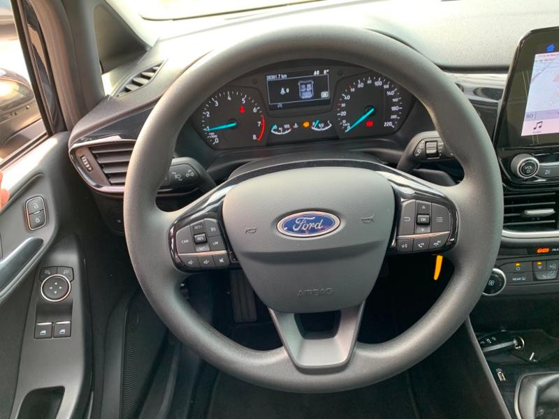 Ford Fiesta 1.0 EcoBoost 100ch Stop&Start Cool & Connect 5p Euro6.2 Noir occasion à Beaune - photo n°11
