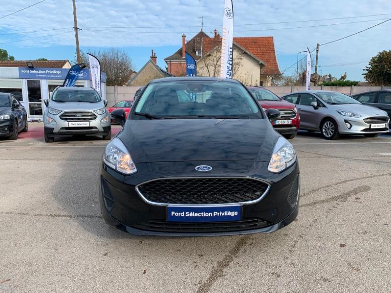 Ford Fiesta 1.0 EcoBoost 100ch Stop&Start Cool & Connect 5p Euro6.2 Noir occasion à Beaune - photo n°2