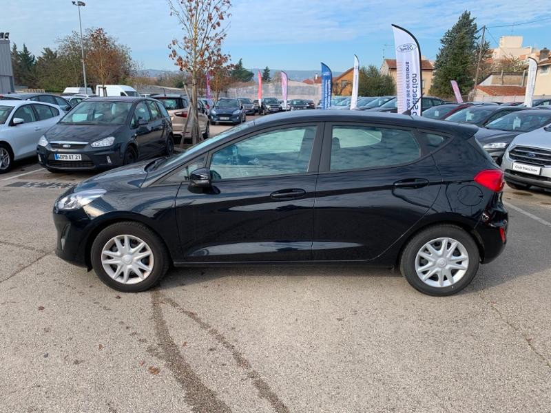 Ford Fiesta 1.0 EcoBoost 100ch Stop&Start Cool & Connect 5p Euro6.2 Noir occasion à Beaune - photo n°4