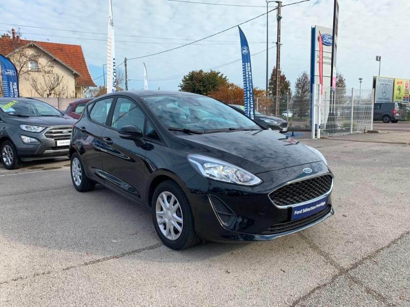 Ford Fiesta 1.0 EcoBoost 100ch Stop&Start Cool & Connect 5p Euro6.2 Noir occasion à Beaune