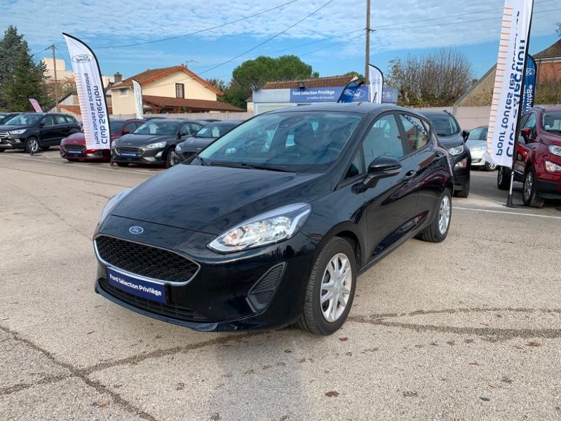 Ford Fiesta 1.0 EcoBoost 100ch Stop&Start Cool & Connect 5p Euro6.2 Noir occasion à Beaune - photo n°3
