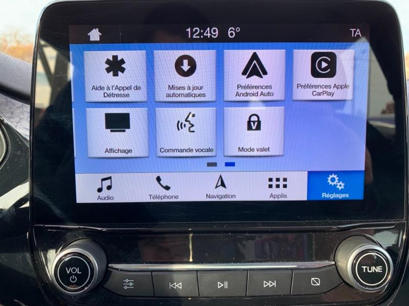 Ford Fiesta 1.0 EcoBoost 100ch Stop&Start Cool & Connect 5p Euro6.2 Noir occasion à Beaune - photo n°15