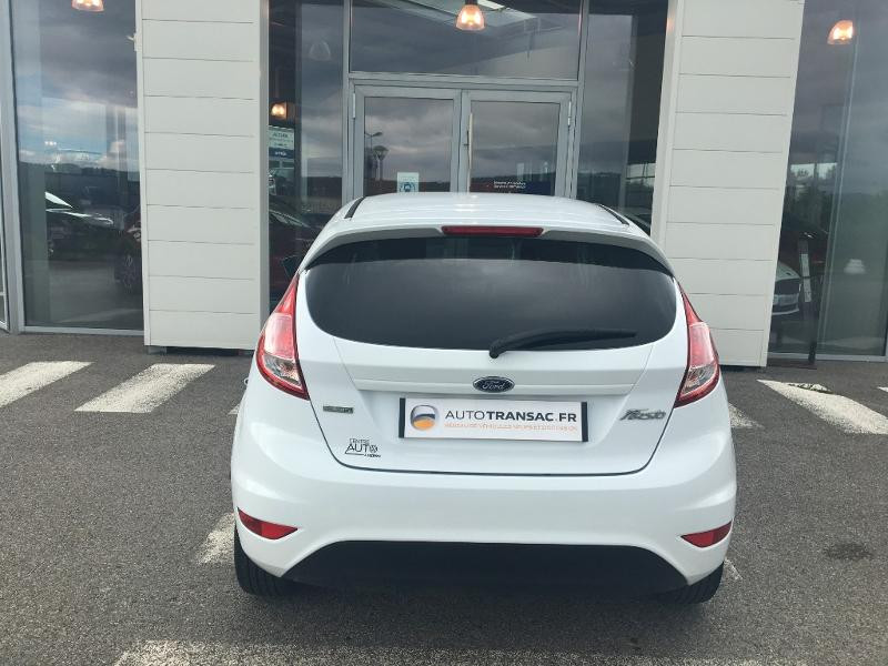 Ford Fiesta 1.0 EcoBoost 100ch Stop&Start Edition 5p Blanc occasion à Mende - photo n°4