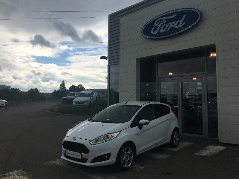Ford Fiesta 1.0 EcoBoost 100ch Stop&Start Edition 5p Blanc occasion à Mende