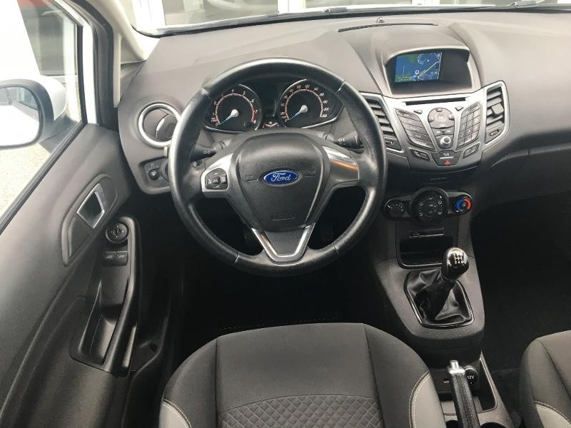 Ford Fiesta 1.0 EcoBoost 100ch Stop&Start Edition 5p Blanc occasion à Mende - photo n°5