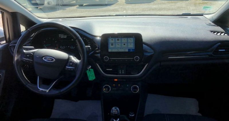 Ford Fiesta 1.0 ECOBOOST 100cv S&S EDITION 5P Noir occasion à La Buisse - photo n°7