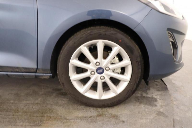 Ford Fiesta 1.0 EcoBoost 125 ch S&S mHEV BVM6 Titanium Bleu occasion à Saint-Grégoire - photo n°13
