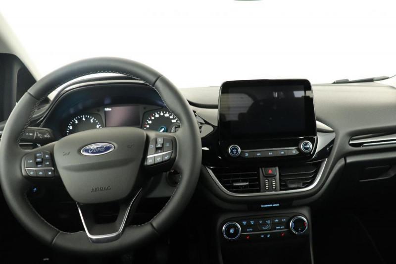 Ford Fiesta 1.0 EcoBoost 125 ch S&S mHEV BVM6 Titanium Bleu occasion à Saint-Grégoire - photo n°5