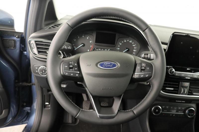 Ford Fiesta 1.0 EcoBoost 125 ch S&S mHEV BVM6 Titanium Bleu occasion à Saint-Grégoire - photo n°6