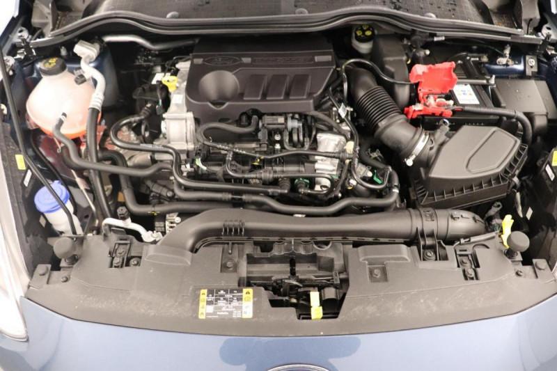 Ford Fiesta 1.0 EcoBoost 125 ch S&S mHEV BVM6 Titanium Bleu occasion à Saint-Grégoire - photo n°15