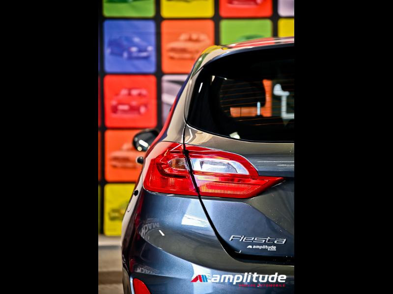 Ford Fiesta 1.1 70ch Trend 5p Gris occasion à Dijon - photo n°7