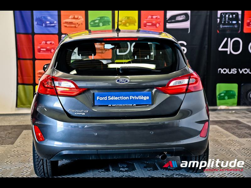 Ford Fiesta 1.1 70ch Trend 5p Gris occasion à Dijon - photo n°5