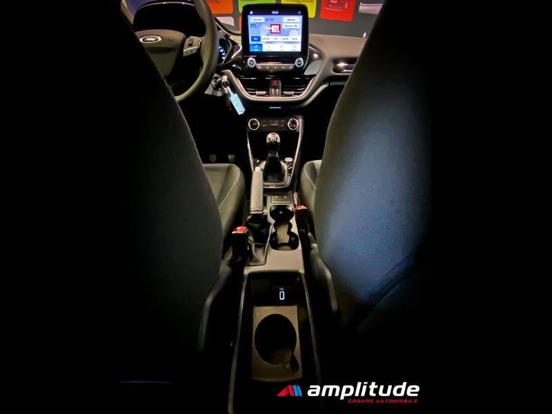 Ford Fiesta 1.1 70ch Trend 5p Gris occasion à Dijon - photo n°18