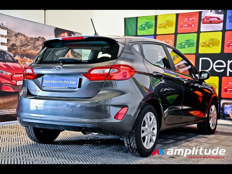 Ford Fiesta 1.1 70ch Trend 5p Gris occasion à Dijon - photo n°4