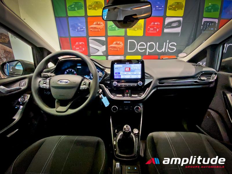 Ford Fiesta 1.1 70ch Trend 5p Gris occasion à Dijon - photo n°17
