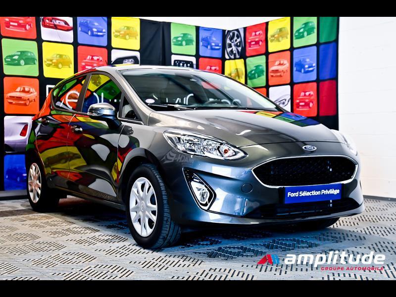 Ford Fiesta 1.1 70ch Trend 5p Gris occasion à Dijon
