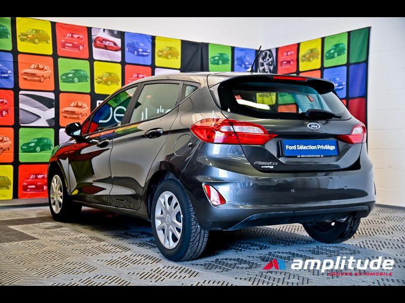 Ford Fiesta 1.1 70ch Trend 5p Gris occasion à Dijon - photo n°6