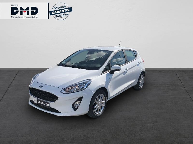 Ford Fiesta 1.1 85ch Cool & Connect 5p Euro6.2 Blanc occasion à Rezé