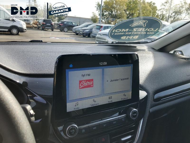 Ford Fiesta 1.1 85ch Cool & Connect 5p Euro6.2 Blanc occasion à Rezé - photo n°6