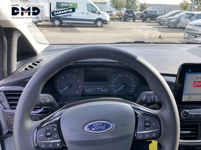 Ford Fiesta 1.1 85ch Cool & Connect 5p Euro6.2 Blanc occasion à Rezé - photo n°7