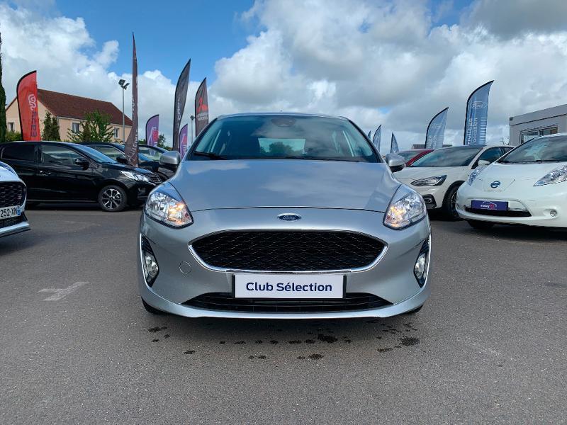 Ford Fiesta 1.1 85ch Trend 5p 5cv Euro6.2 Gris occasion à Saint-Doulchard - photo n°2