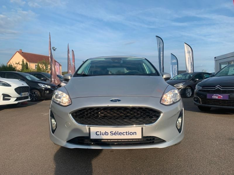 Ford Fiesta 1.1 85ch Trend 5p Gris occasion à Olivet - photo n°2