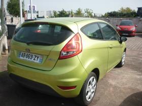 Ford Fiesta 1.4 TDCi 68ch Ambiente 3p Vert occasion à Portet-sur-Garonne - photo n°3