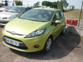 Ford Fiesta 1.4 TDCi 68ch Ambiente 3p Vert occasion à Portet-sur-Garonne - photo n°2