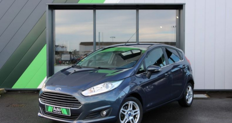 Ford Fiesta 1.5 TDCI 75 FAP TITANIUM 5P Gris occasion à Jaux