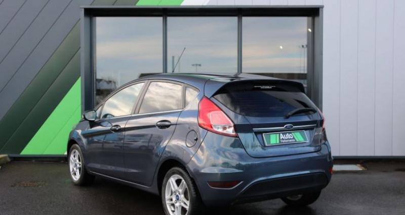 Ford Fiesta 1.5 TDCI 75 FAP TITANIUM 5P Gris occasion à Jaux - photo n°4