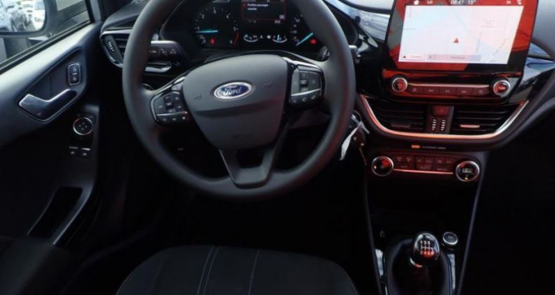 Ford Fiesta 1.5 TDCI 85 TREND BUSINESS NAV 5p Gris occasion à CHANAS - photo n°3
