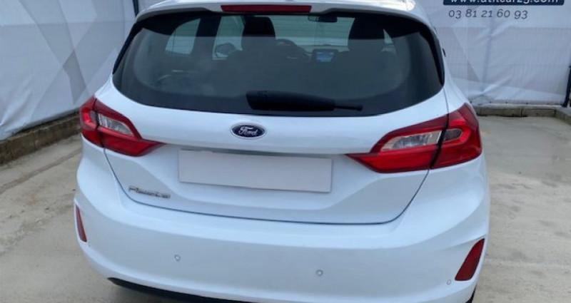 Ford Fiesta 1.5 TDCI 85CH STOP&START TREND 3P Blanc occasion à Tarcenay - photo n°4
