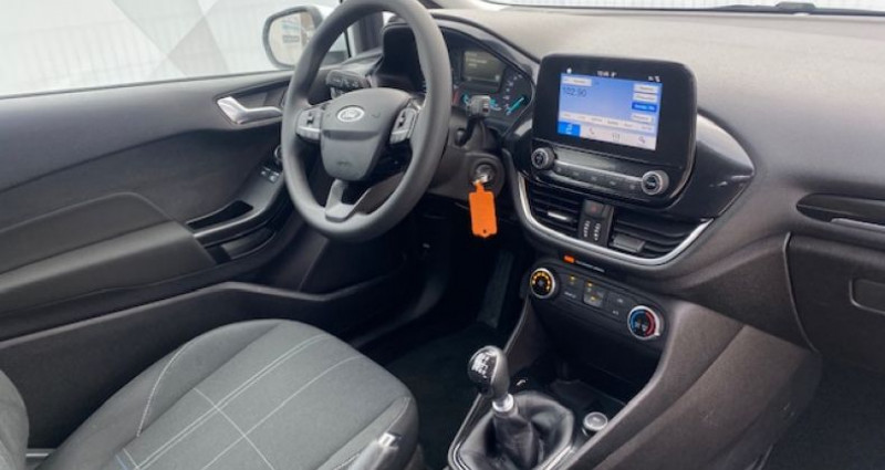 Ford Fiesta 1.5 TDCI 85CH STOP&START TREND 3P Blanc occasion à Tarcenay - photo n°7
