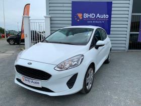 Ford Fiesta Blanc, garage BHD AUTO à Biganos