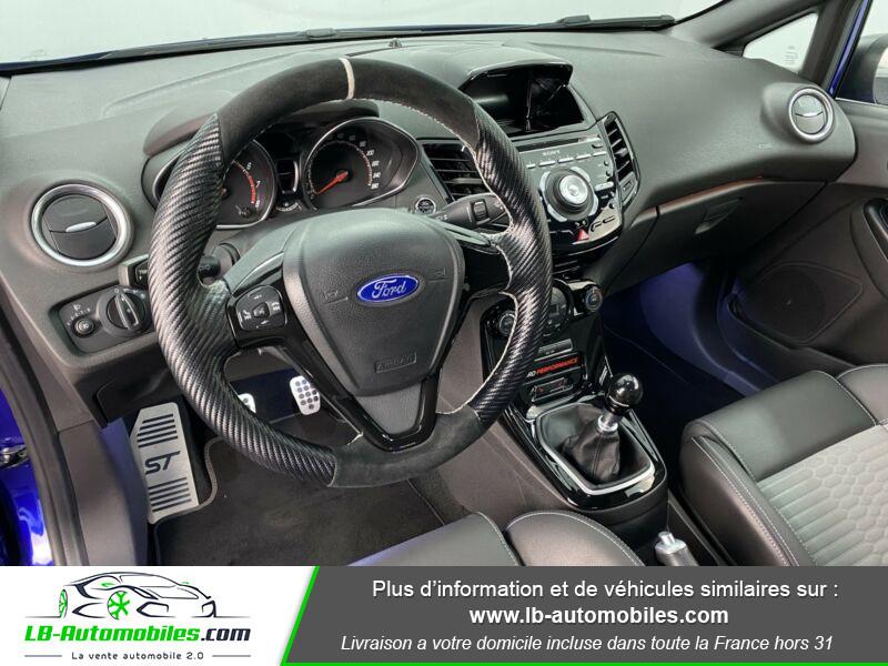 Ford Fiesta 1.6 EcoBoost 182 ST 3P Bleu occasion à Beaupuy - photo n°2