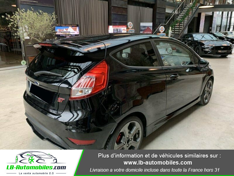 Ford Fiesta 1.6 EcoBoost 182 ST 3P Noir occasion à Beaupuy - photo n°3